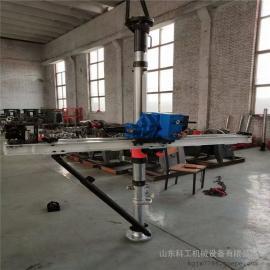 煤层巷道支护钻孔ZQJC-380/7.3S气动架柱式钻机 360度气动钻机