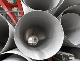 304不锈钢焊管大小口径现货内外抛光卫生级