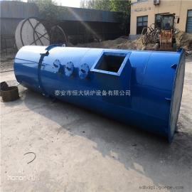 生产销售钢制水膜脱硫除尘器 双碱法水膜脱硫塔 指导安装调试恒大SF