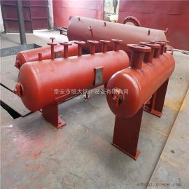 各种规格型号分汽缸 产品质量保证自动焊接 蒸汽分汽缸