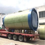 无噪音污水预制泵站、一体化污水提升泵站