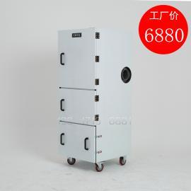 小型单机集尘器,磨床专用吸尘器布袋式集尘机