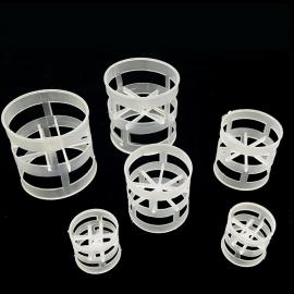 pp鲍尔环 聚丙烯 聚乙烯塑料鲍尔环填料 圆柱立式塔式填料
