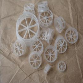 PP鲍尔环填料 污水处理滤料填料 聚丙烯PP塑料鲍尔环