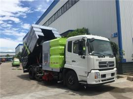 东风天锦全自动扫路车 国五多功能扫地车订做周期多久