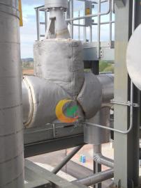 LNG阀门保温套 立体可拆卸设备保温套 蒸汽分气缸保温套