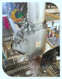 油脂厂可拆卸式保温套 油脂厂阀门保温衣截止阀保温套管道保温被