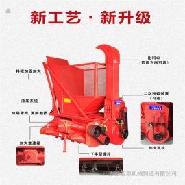 圣泰多用途玉米秸秆粉碎收集机 养殖用饲料牧草收割机 机器参数ST-1000