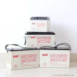 易事特EAST�U酸蓄�池NP38-12�液式12V38AH安防系�y