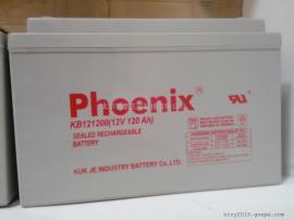 Phoenix免维护蓄电池KB12650凤凰蓄电池12V65AH