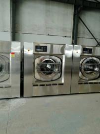 宾馆酒店布草洗涤设备 不锈钢全自动洗衣机设备