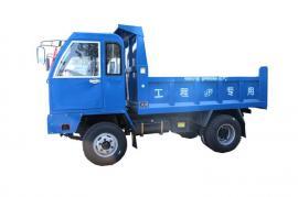 甲生盘小型带卧自卸车 12吨四驱爬山王运输喷浆料多少钱