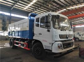 (全密封式)15吨污泥运输车-污泥垃圾分类型清运车