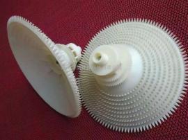污水处理专用曝气器 平板拱形橡胶曝气盘 臭氧膜片ABS微孔曝气头