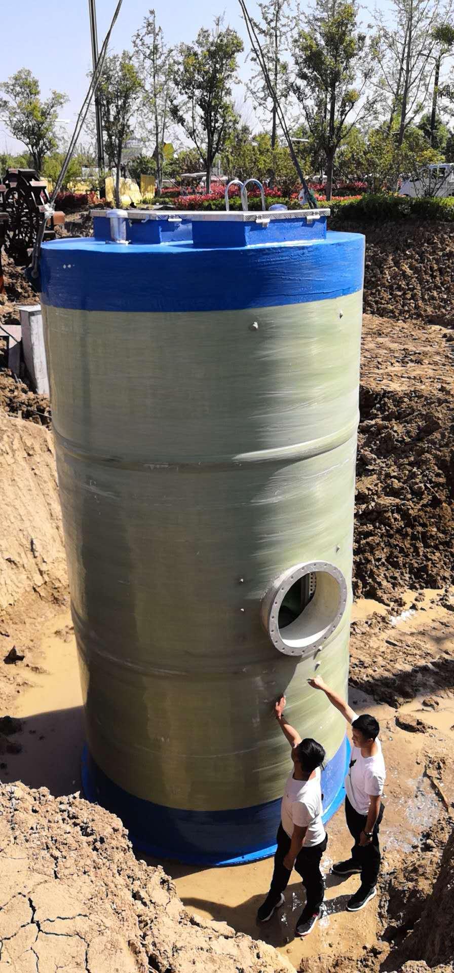 智能污水提升泵站 、无人值守污水提升泵站