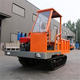 可定制农用履带运输车 全地形运输沙石履带翻斗车
