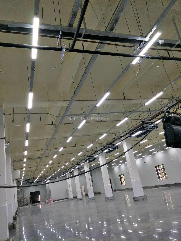 led三防灯IP65全套一体化支架灯防潮防水厂房长条灯