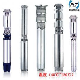 深水泵 进口全不锈钢深井泵 高扬程大流量 耐腐蚀 潜水泵卫生级