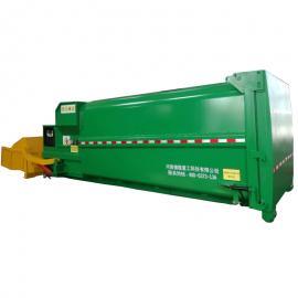 工作效率高的移动式水平垃圾中转站 垃圾压缩设备