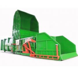 分体式水平压缩垃圾中转站 居民区生活垃圾压缩设备