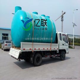地埋式一体化玻璃钢化粪池——亿联环保 生产制造