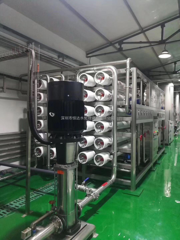 进口纯净水设备-纯进口水处理设备-恒达HD