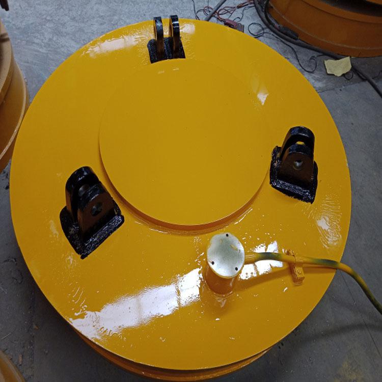 澳尔新 生产φ90强磁吸力电磁吸盘 q强磁电磁铁