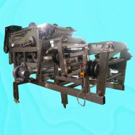 火龙果带式压榨机 高效率果汁压榨机