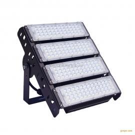 LED泛光��200W 模�M投光��