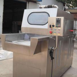全自动不锈钢盐水注射机,注射机,注水机,调味品注射机