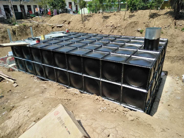 地埋水箱、智能地埋箱泵一�w化水箱