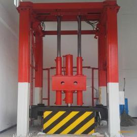 垂直垃圾中转站 侧翻垂直垃圾站 垂直压缩站环保生产厂德隆