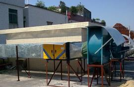 静电式低空排放6000风量餐饮油烟净化器技术特点