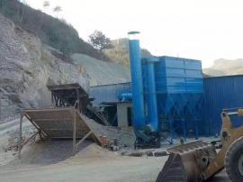 矿山破碎机布袋除尘器 脉冲布袋除尘器