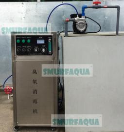 渔悦臭氧发生器与超微气泡发生装置套装高效杀菌器 去除氨氮亚硝�