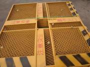 建筑外架施工电梯防护安全门/现货电梯防护门薄利销售