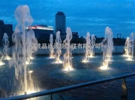 旱式喷泉景观