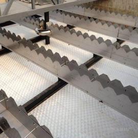 自来水厂专用蜂窝斜管填料型号明阳【孔径35】