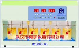 MY3000-6D混凝试验六联搅拌机 梅宇水质检测仪器