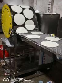 大金烤鸭荷叶饼机,烤鸭春饼机,烤鸭卷饼机,烤鸭饼生产设备