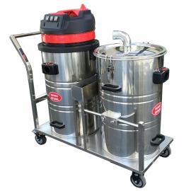 家具厂用大容量吸木屑吸尘器石材厂用超强吸力工业吸尘器DK80-2