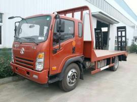大运4.2米平板运输车适合拉150挖机