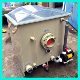 水处理过滤器 鼓式过滤机 60T/H 自动反冲洗转鼓过滤器