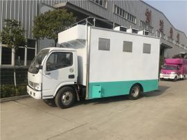解放轻卡车载厨房�x车 移动大型餐饮车排行榜