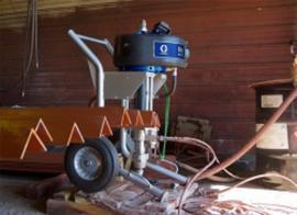 美国固瑞克XTREME68:1钢结构高压无气喷涂机