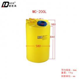 200L加�箱|食品�Υ嫱�|PE塑�z桶|防腐罐|化工��罐