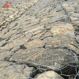 河道治理固滨笼 低碳钢丝格宾笼 PVC绿滨垫 锌铝雷诺护垫