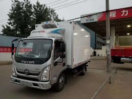 运送水果蔬菜奥铃TS速运4米2箱体冷藏车配置
