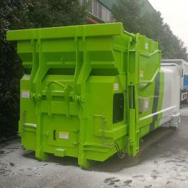 移动式水平压缩垃圾中转站 居民区生活垃圾压缩设备