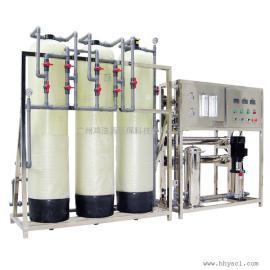鸿浩源洗洁精洗衣液用反渗透设备洗涤剂用纯水设备湿巾用去离子水设备1000L/H
